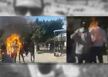 Mandat de dépôt à l'encontre du suspect de la mort du cameraman immolé par le feu