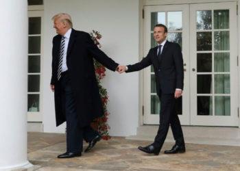 Trump-et-macron