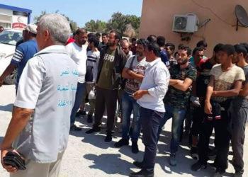 la libération des ressortissants enlevés en Libye