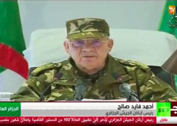 Le-chef-d'état-major-de-l'armée-algérienne