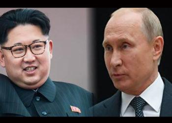 Première entre Poutine et Kim Jong-un