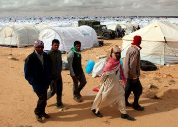 réfugiés-libyens-à-Tataouine