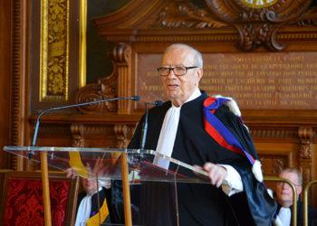 la Sorbonne rend hommage à Béji Caïd Essebsi